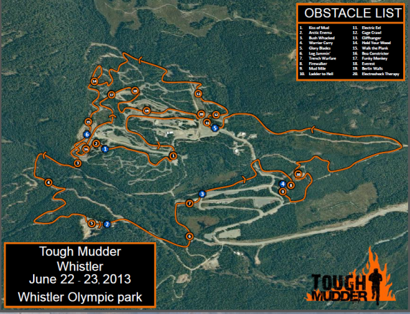 Tough Mudder Whistler 2013